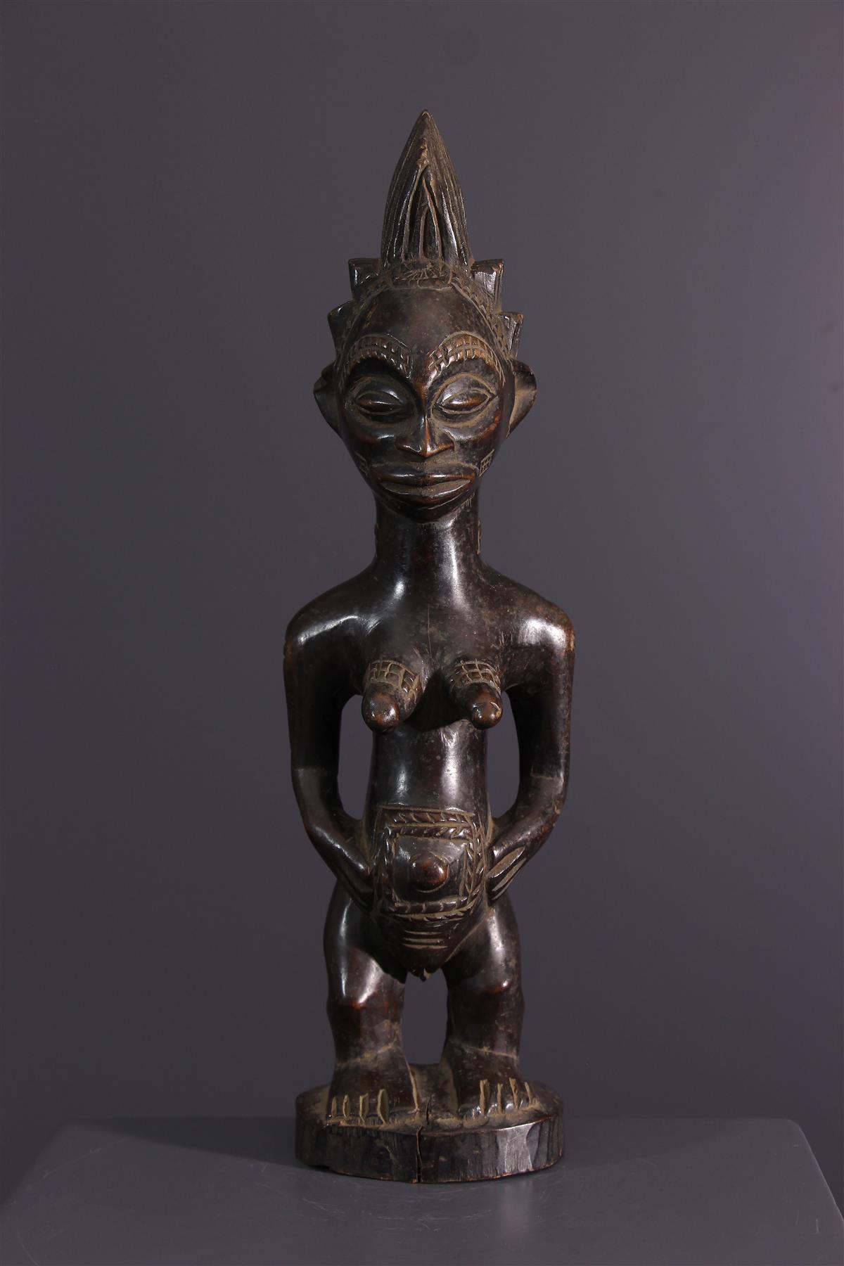 Luba beeldje - Afrikaanse kunst