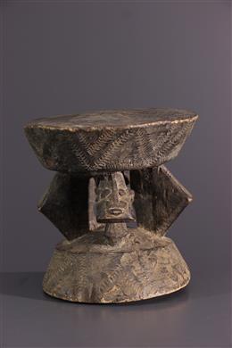Afrikaanse kunst - Dogon kruk zitting