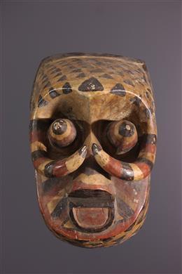 Afrikaanse kunst - Ngeende Isheen Imalu Kuba Masker