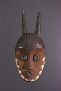 Afrikaanse kunst - Pende gehoornde masker