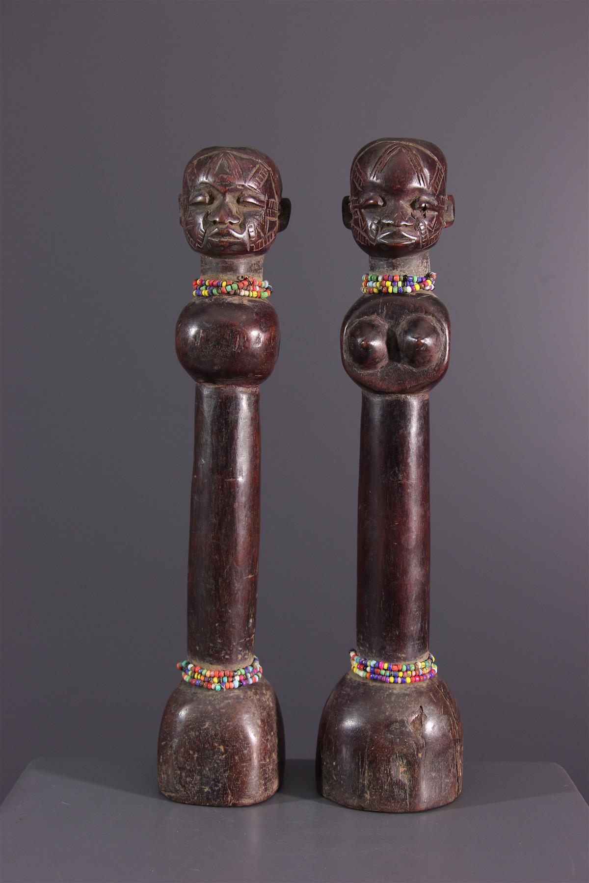 Makonde poppen - Afrikaanse kunst
