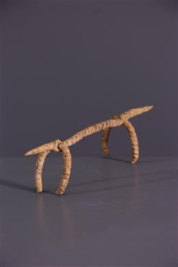 Afrikaanse kunst - IJzeren Dogon zoömorfe figuur