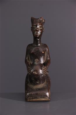 Afrikaanse kunst - Vrouwelijke figuur Shoowa Bushoong
