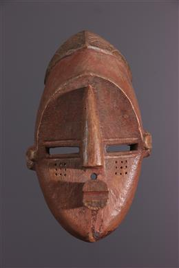 Afrikaanse kunst - Lwalwa masker