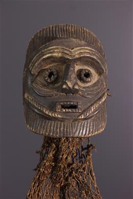 Afrikaanse kunst - Mbunda Samahongo masker Zambia