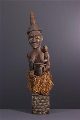 Afrikaanse kunst - Kishi-Kishi Pende Bapende Maternity