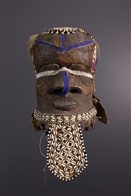 Afrikaanse kunst - Kuba/ Ngeende Bwoom helmmasker