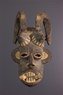 Afrikaanse kunst - Igbo Mgbedike masker