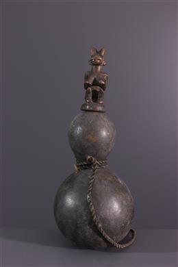 Afrikaanse kunst - Kwéré kalebas container