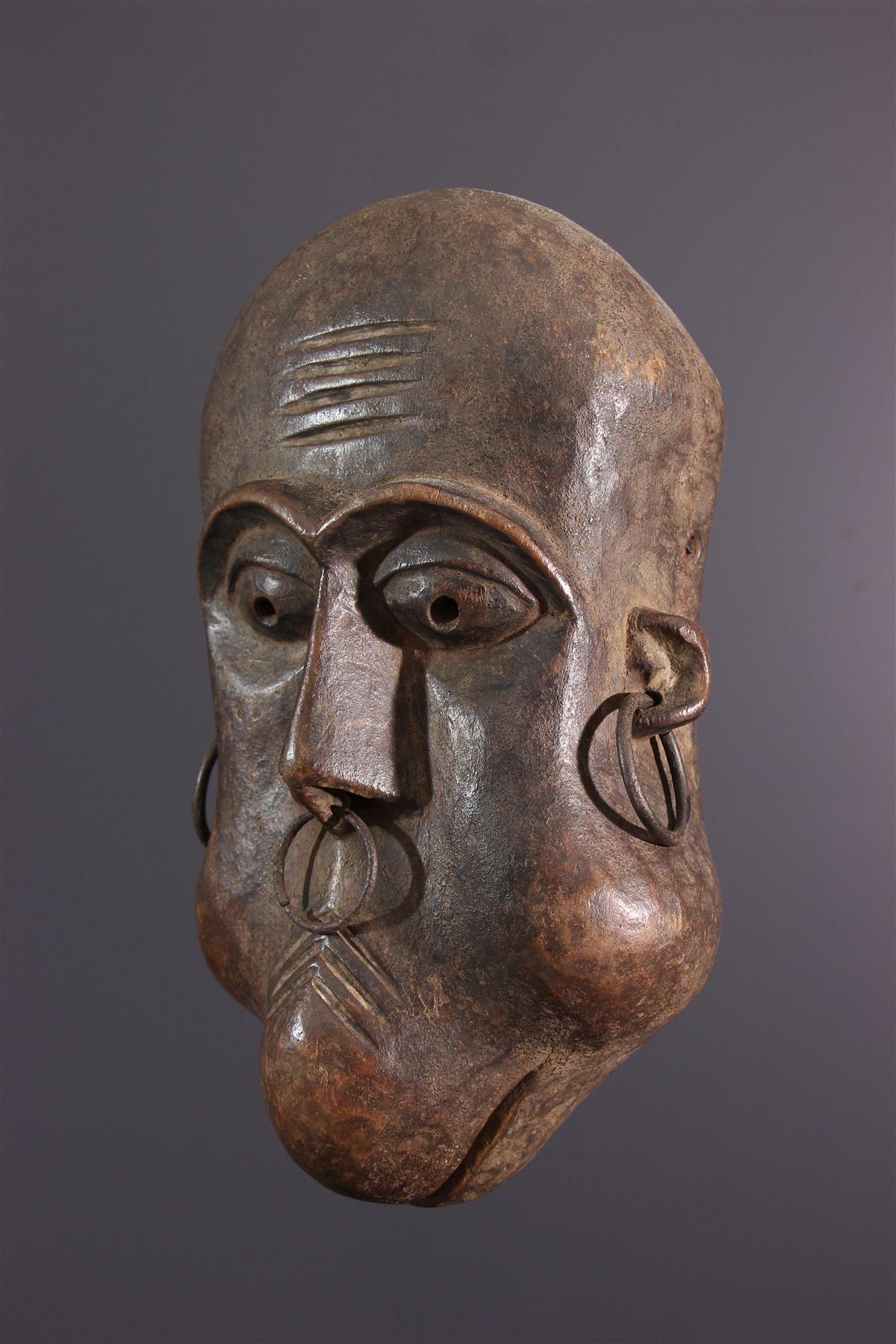 Zande masker - Afrikaanse kunst