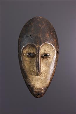 Afrikaanse kunst - Lega Lukwakongo masker