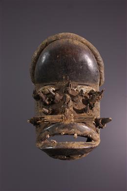 Afrikaanse kunst - We Wobé masker