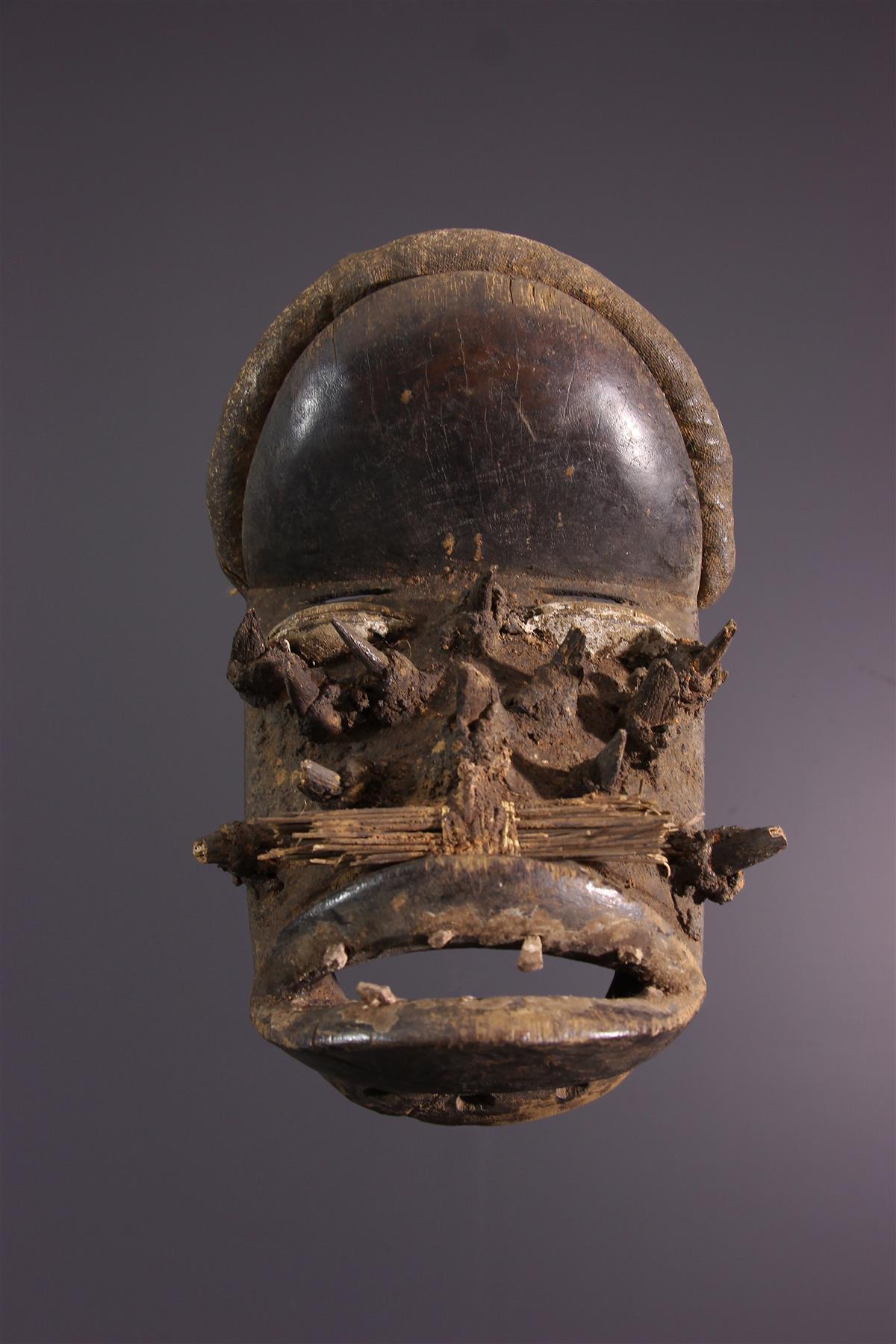 Wobé masker - Afrikaanse kunst