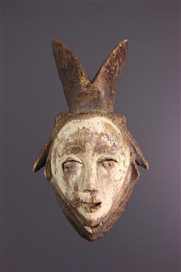 Afrikaanse kunst - Lumbu Punu masker