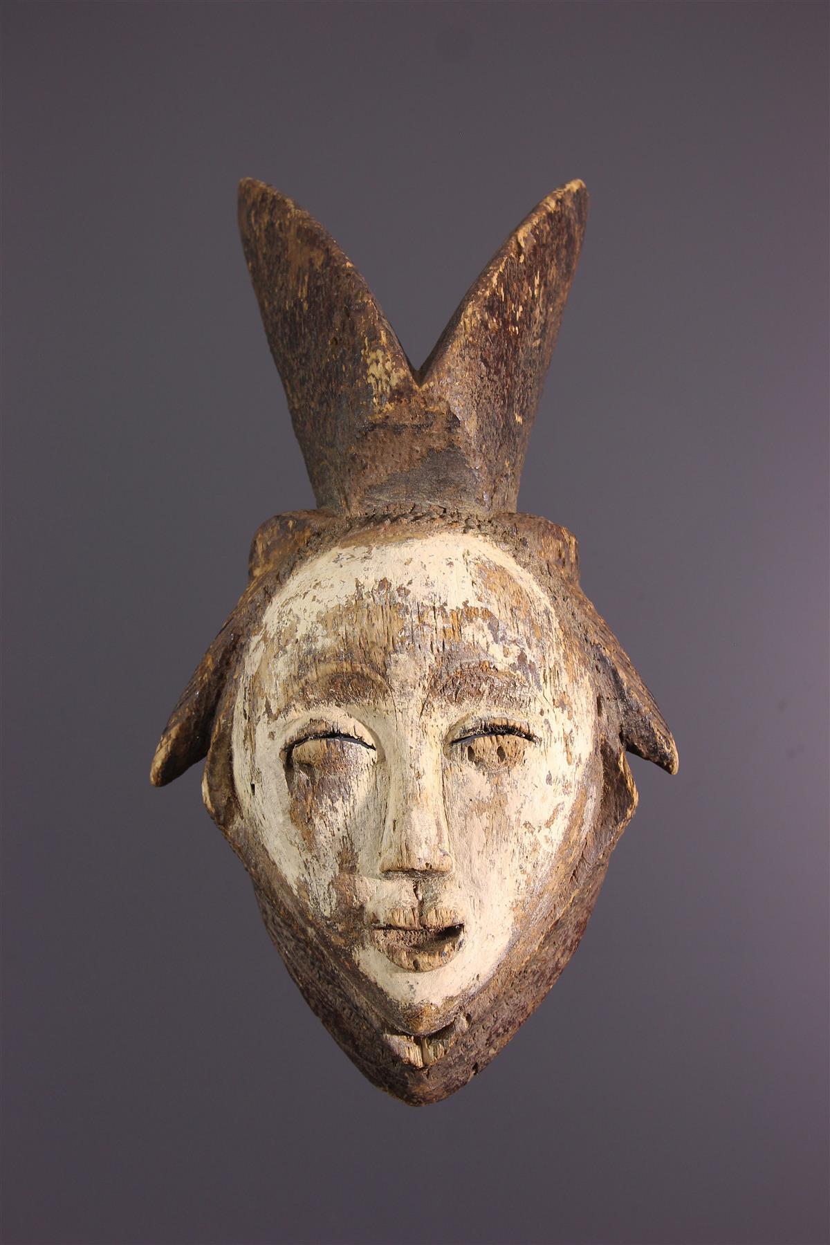 Lumbu masker - Afrikaanse kunst