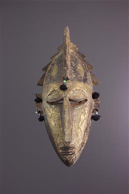 Afrikaanse kunst - Markha Ntomo masker