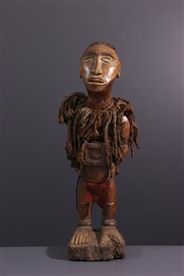 Afrikaanse kunst - Yombe Nkisi fetisj standbeeld