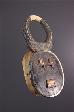 Afrikaanse kunst - Goli Baule Kplé kplé masker