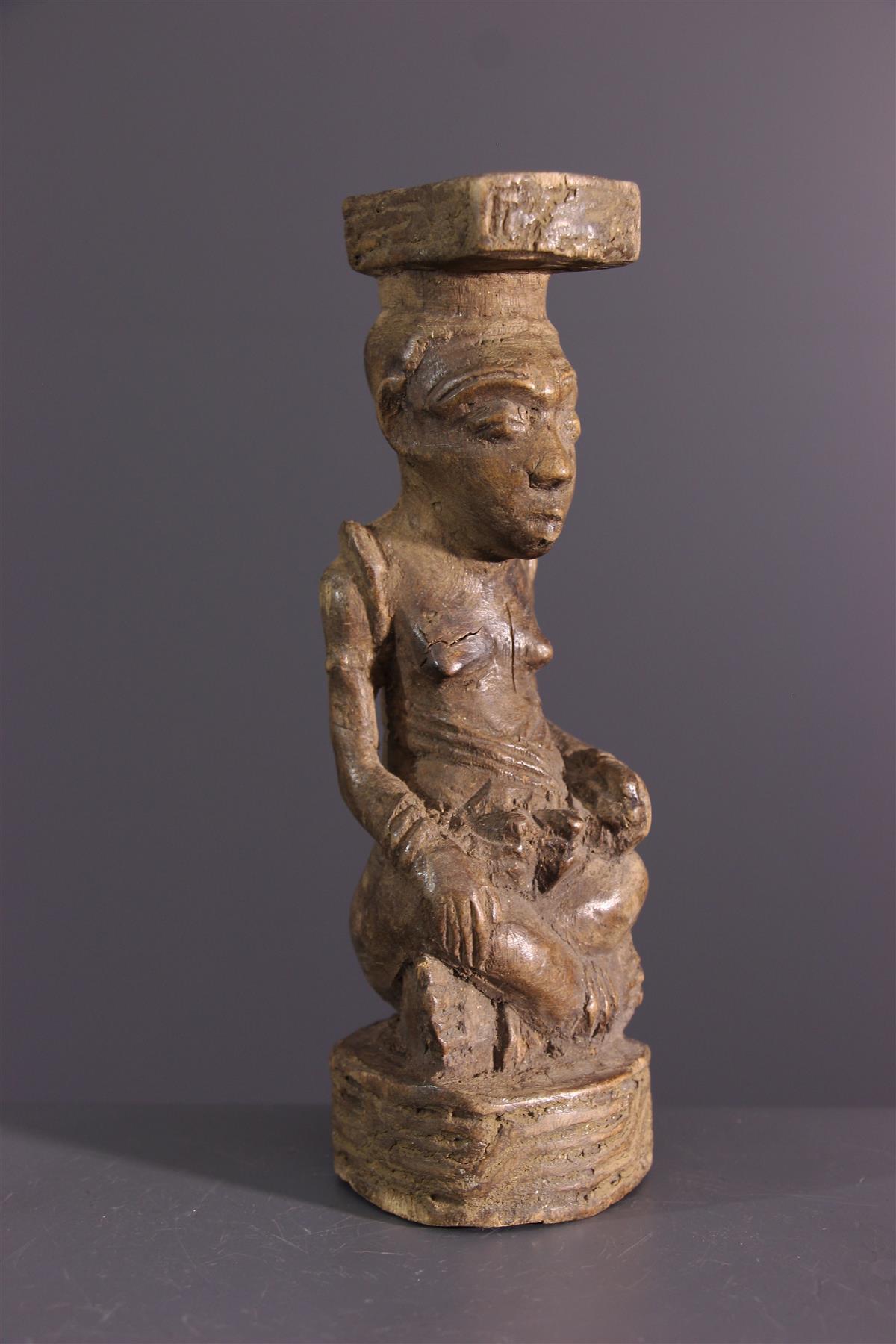 Kuba beeldje - Afrikaanse kunst