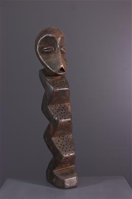 Afrikaanse kunst - Lega Bwami / Zimba initatie figuur