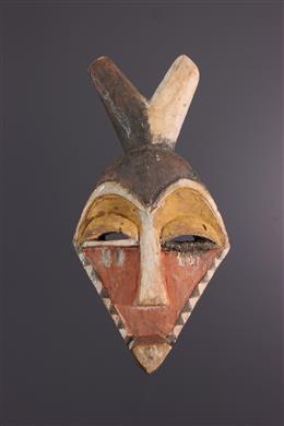 Afrikaanse kunst - Pende Mingangi, Minyangi masker