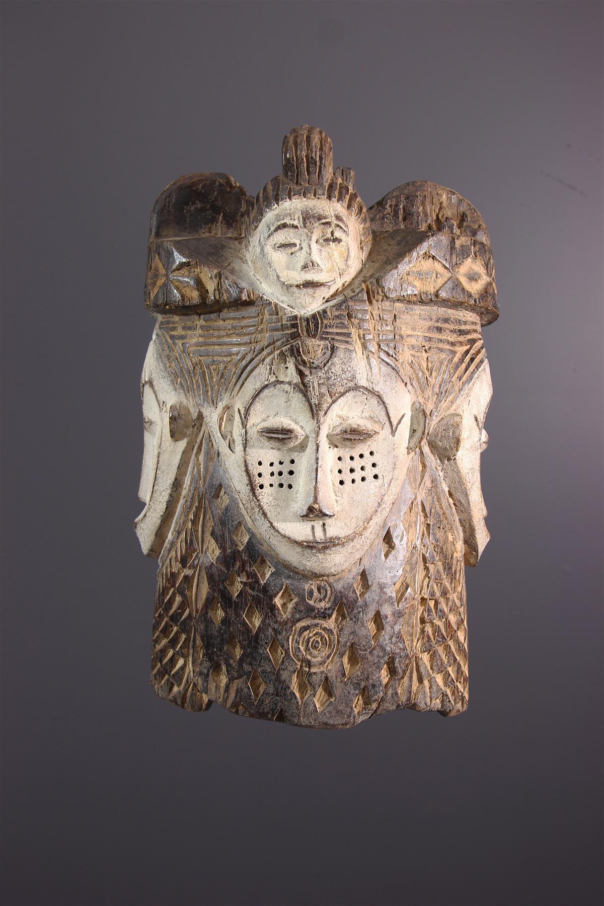 Fang masker - Afrikaanse kunst