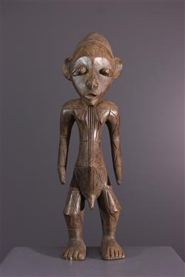 Afrikaanse kunst - Mangbetu beeldje