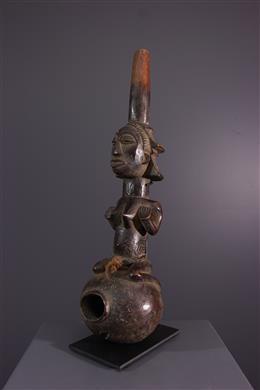 Afrikaanse kunst - Luba pijp