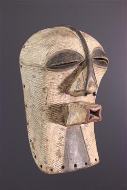 Afrikaanse kunst - Luba Kifwebe Kikashi masker