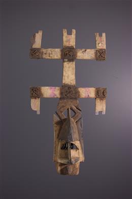 Afrikaanse kunst - Dogon Kanaga masker