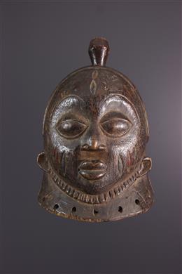 Afrikaanse kunst - Gelede Yoruba kuif masker