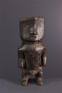 Afrikaanse kunst - Mannelijk figuur Banja, Mbanza