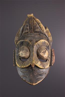 Afrikaanse kunst - Ibibio Anang Idiok masker