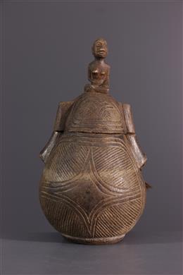 Afrikaanse kunst - Bakongo poeder container