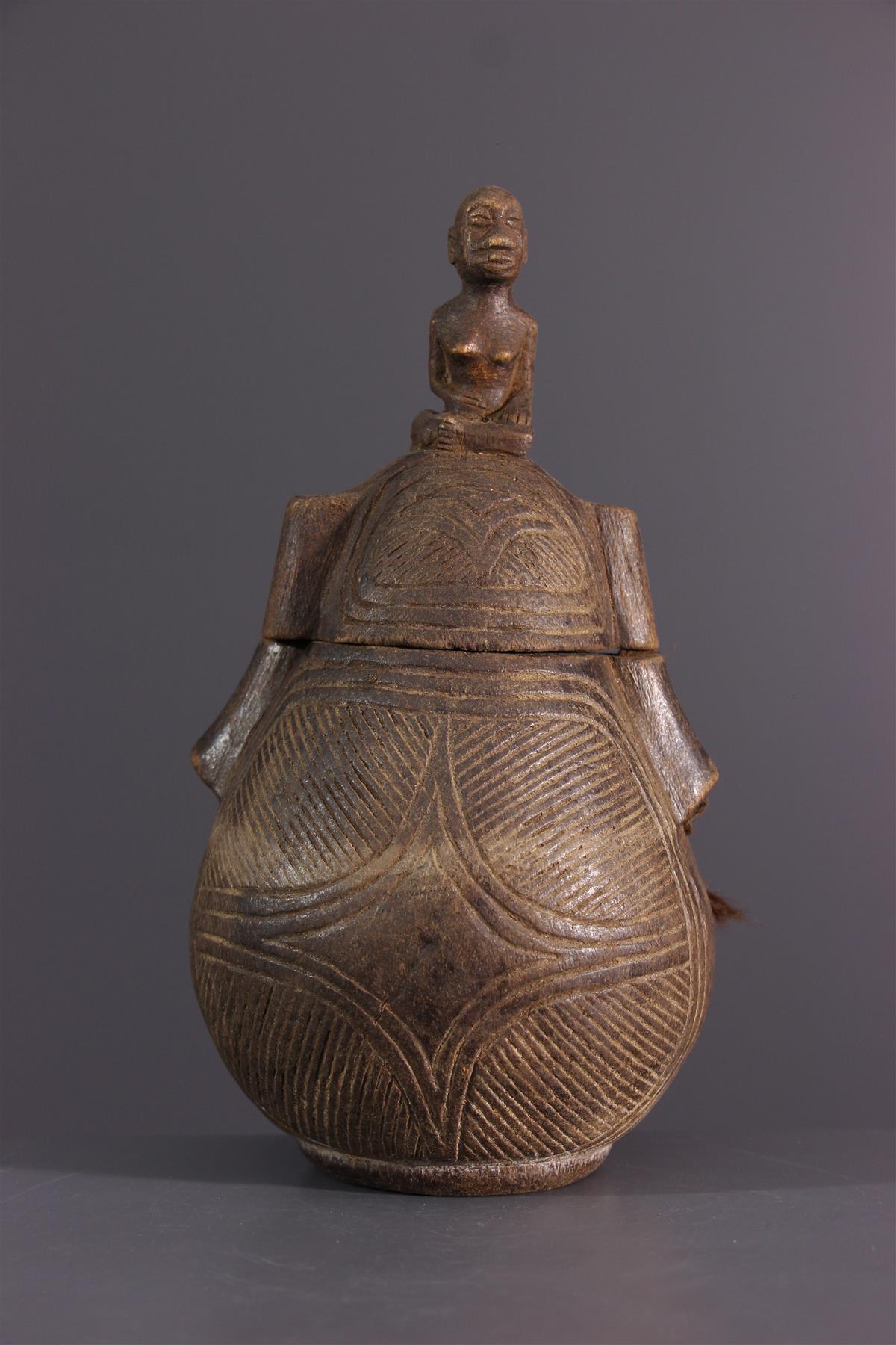 Kongo Fles  - Afrikaanse kunst