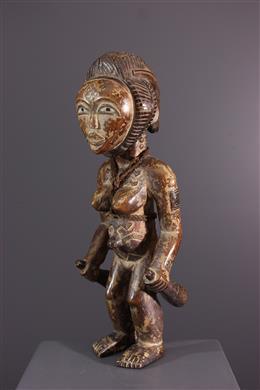 Afrikaanse kunst - Vrouwelijke Punu figuur