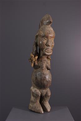 Afrikaanse kunst - Lari / Teke vruchtbaarheidspatroon