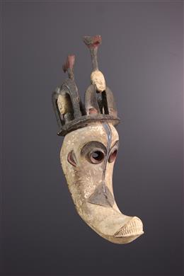 Igbo Mgbedike masker