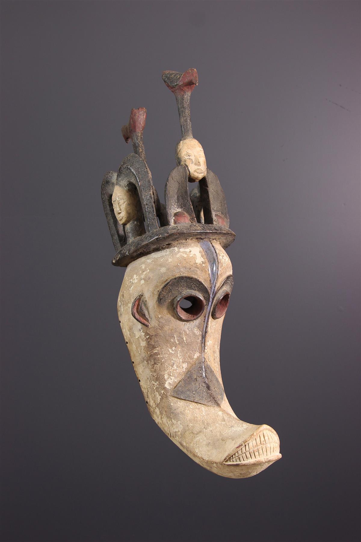 Igbo masker - Afrikaanse kunst