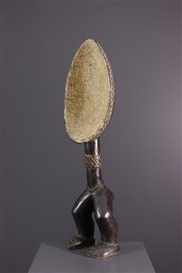Afrikaanse kunst - Dan Wakemia figuratieve lepel