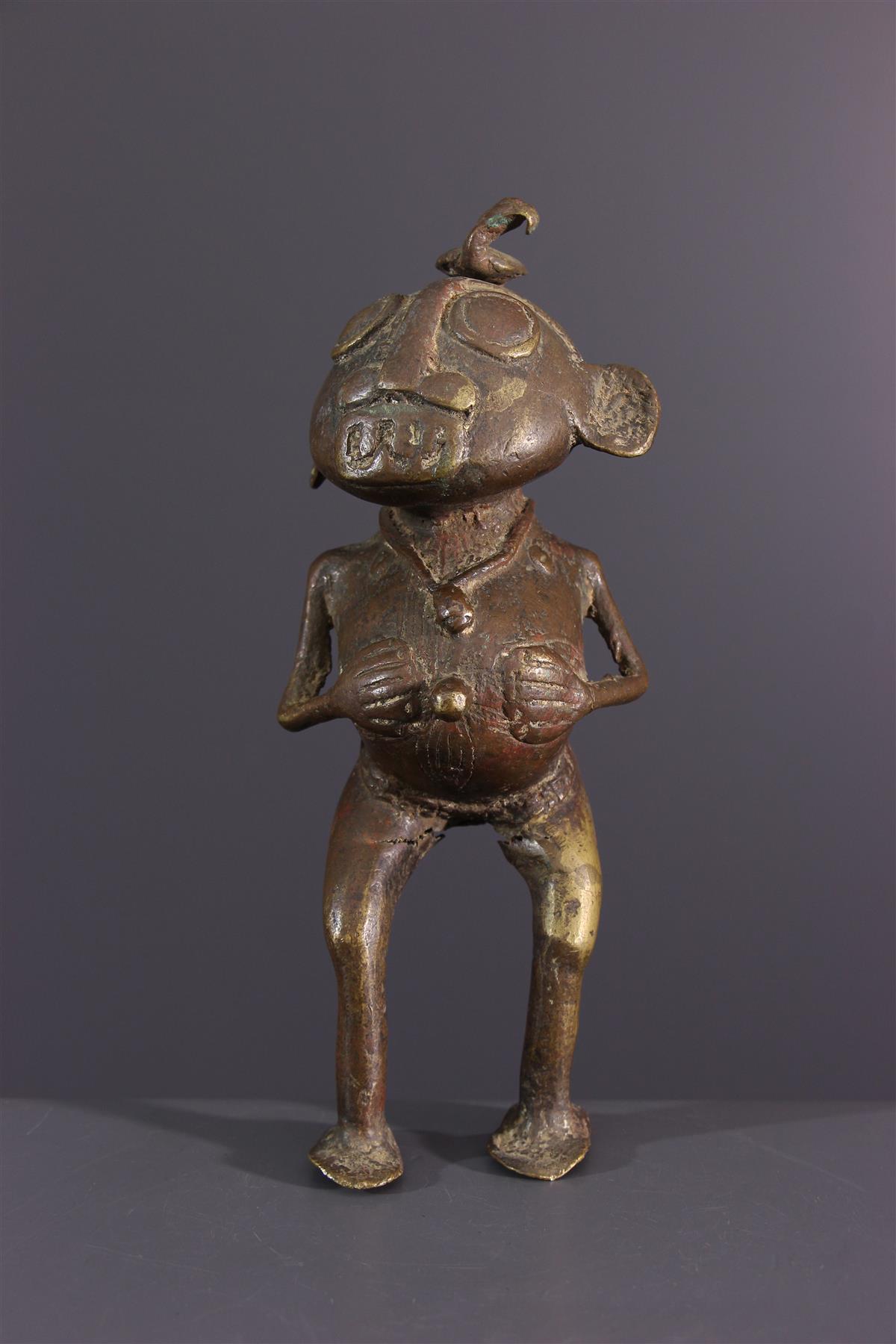 Tikar bronzen  - Afrikaanse kunst