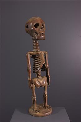 Afrikaanse kunst - Songye skelet figuur