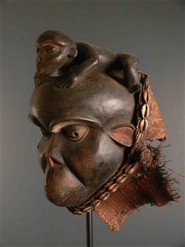 Bulu ceremoniële masker