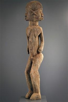 Afrikaanse kunst - Lobi Bateba standbeeld