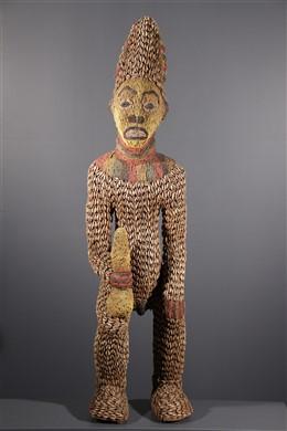 Bangwa N  Kétuok Kralenstandbeeld