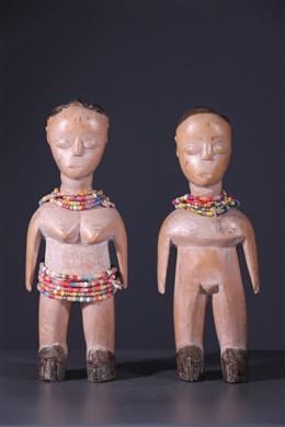 Paar tweelingen Ewe Venavi